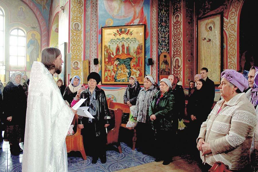 Служба в Саракташской Обители Милосердия